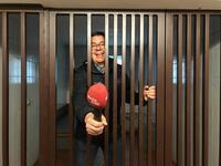 Tag 2 bei der Coburger Polizei - Thomas in der Ausnüchterungszelle.jpg